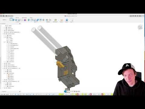 Marble Pressure Gate CAD Design Session - Livestream test - Wintergatan 2