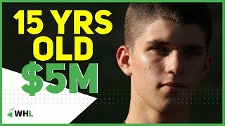 15 Years Old with $5 Million (millionaire reacts)