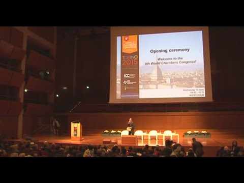 "9th WCC 10/06/2015 - Opening Ceremony e 1a Plenaria ""Global Trade in the 21st Century"""