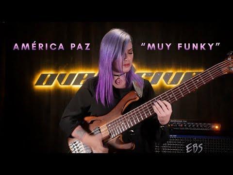 "América Paz ""Muy Funky"" - EBS Reidmar + Electro-Harmonix 720 Looper"