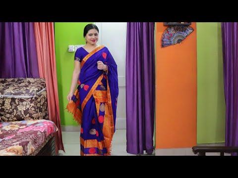 Mekhela Chador draping Tutorial  চাদৰ মেখেলা কেনেকৈ পিন্ধিব।How to wear Assamese Dress Mekhela Sador
