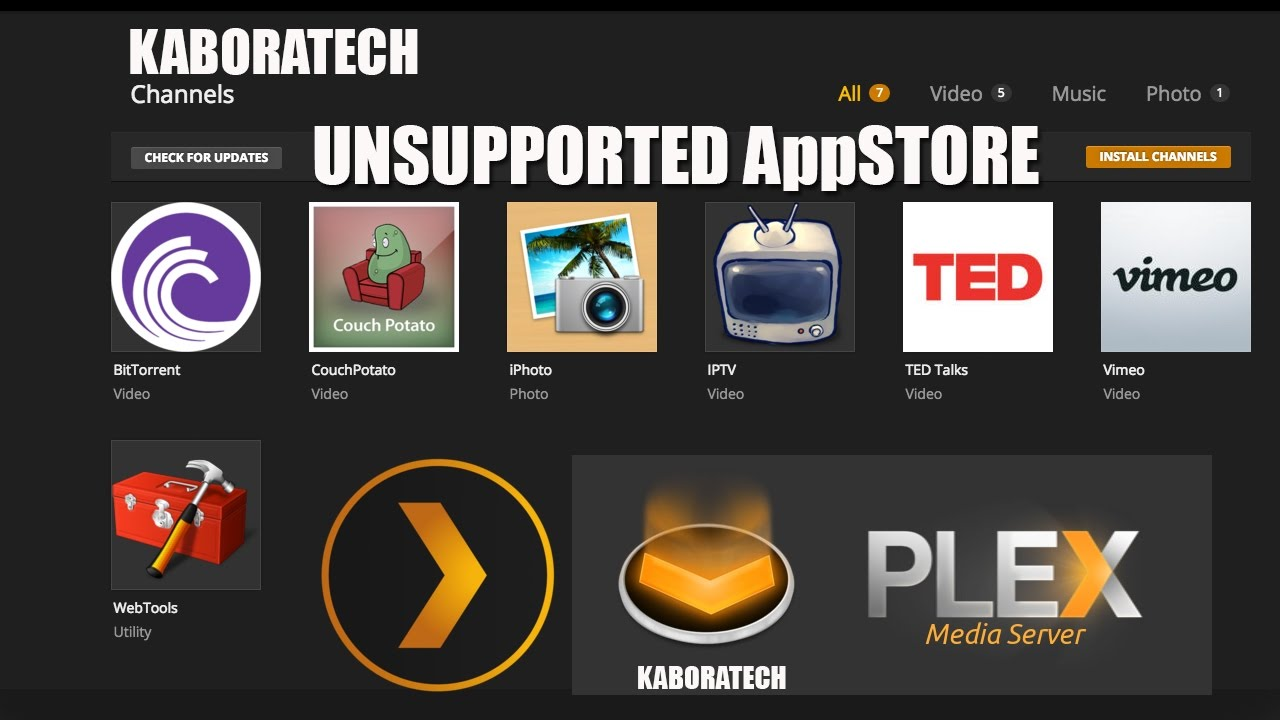 How to Install the Plex Unsupported App Store