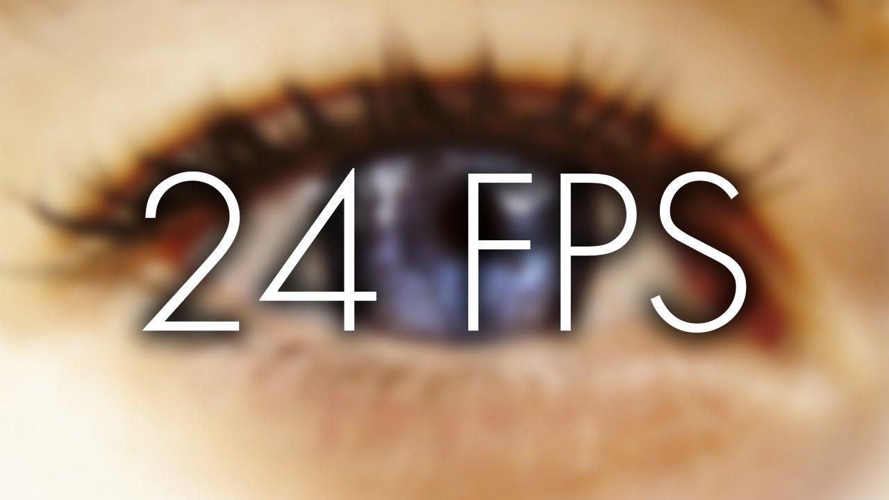 MAN KANN NUR 24 FPS SEHEN!\