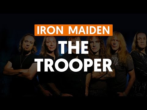 The Trooper - Iron Maiden (aula de guitarra)