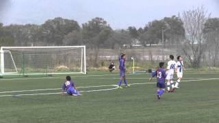 2014年4月19日に行なわれた関東ユース(U-15)サッカーリーグ2部の、エス...