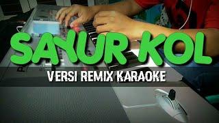 SAYUR KOL - REMIX - KARAOKE - Cover