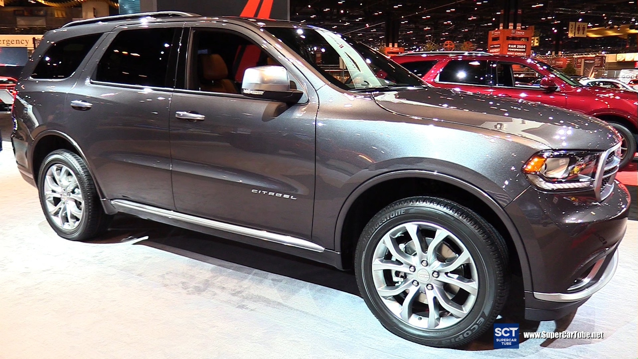 2017 dodge durango citadel awd exterior interior walkaround 2017 chicago auto show youtube. Black Bedroom Furniture Sets. Home Design Ideas