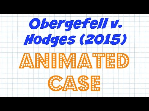 Obergefell V. Hodges  - Landmark Cases - Episode # 2
