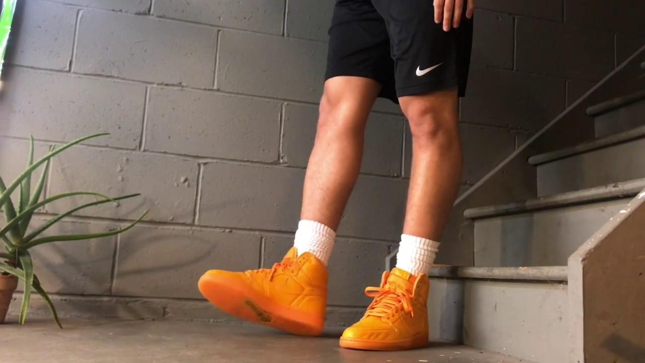 finest selection 7142b 2d6c8 Jordan 1 Gatorade (Orange) - On Feet