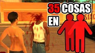 35 cosas que TODOS hicimos en el modo 2 jugadores - GTA San Andreas