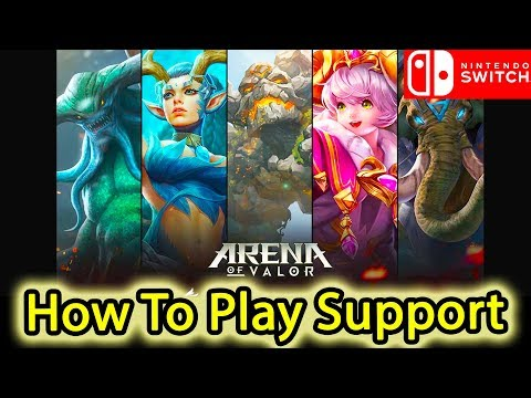 How To Play Support - Arena Of Valor (Nintendo Switch)
