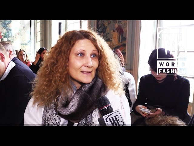 Front Row Veronique Leroy Fall-Winter 15-16 Paris Fashion Week