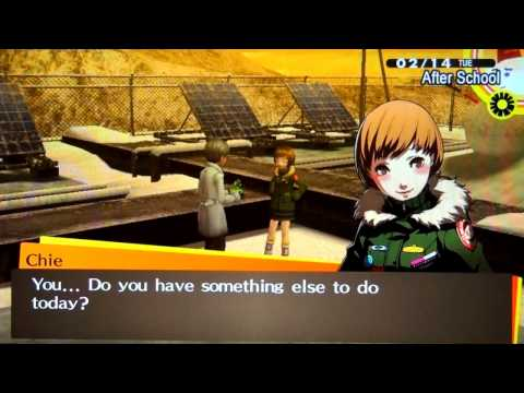 Persona 4 Golden - Valentines Day Event + Rejecting all the Ladies