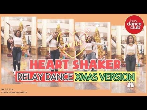 [KPOP IN HILTON/ 5★ HOTEL] HEART SHAKER - TWICE - Relay Dance by BUV Dance Club from Vietnam