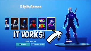 So The New Free Skins GLITCH is Here Fortnite Battle Royale