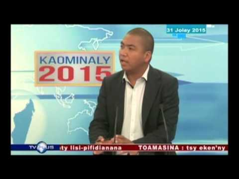EDITION SPECIALE FIFIDIANANA DU 31 JUILLET 2015 BY TV PLUS MADAGASCAR