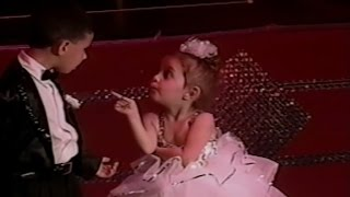 Watch Adorable Little Girl Refuse To Dance With A Boy During Recital