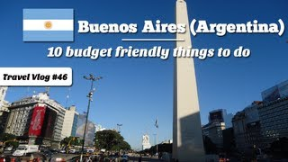 Top 10 things to do in Buenos Aires - budget friendly & fun! (Buenos Aires Guide)