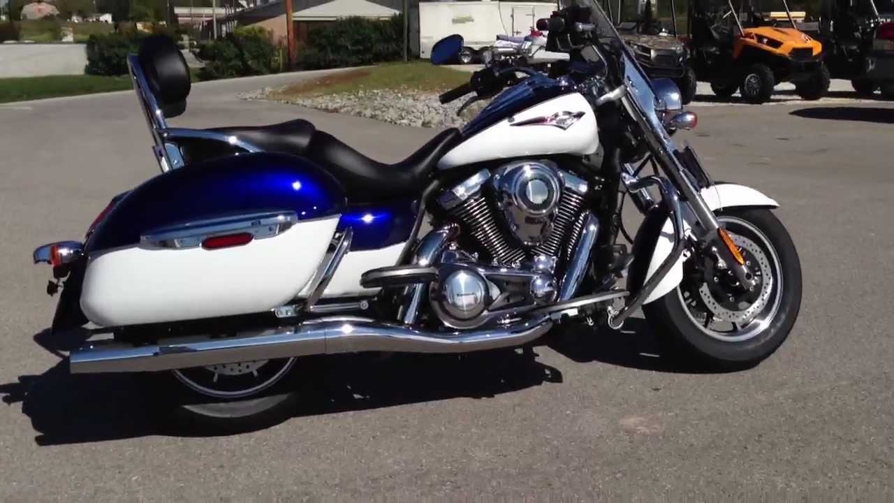 2013 Kawasaki Vulcan 1700 Nomad In Blue And White At Tommys MotorSports