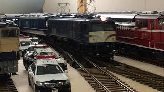 EF58 47号機 24系ブルートレイン OJゲージ鉄道模型