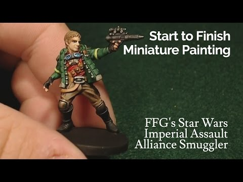 Miniature Painting | Imperial Assault - Alliance Smuggler