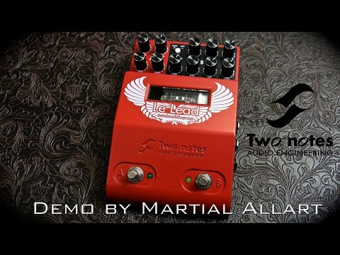 Two Notes Le Lead preamp pedal demo