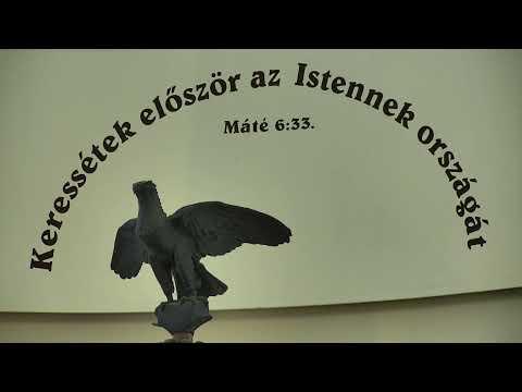 Istentisztelet_NyVREk_ 2020.05.31 10.30 élő