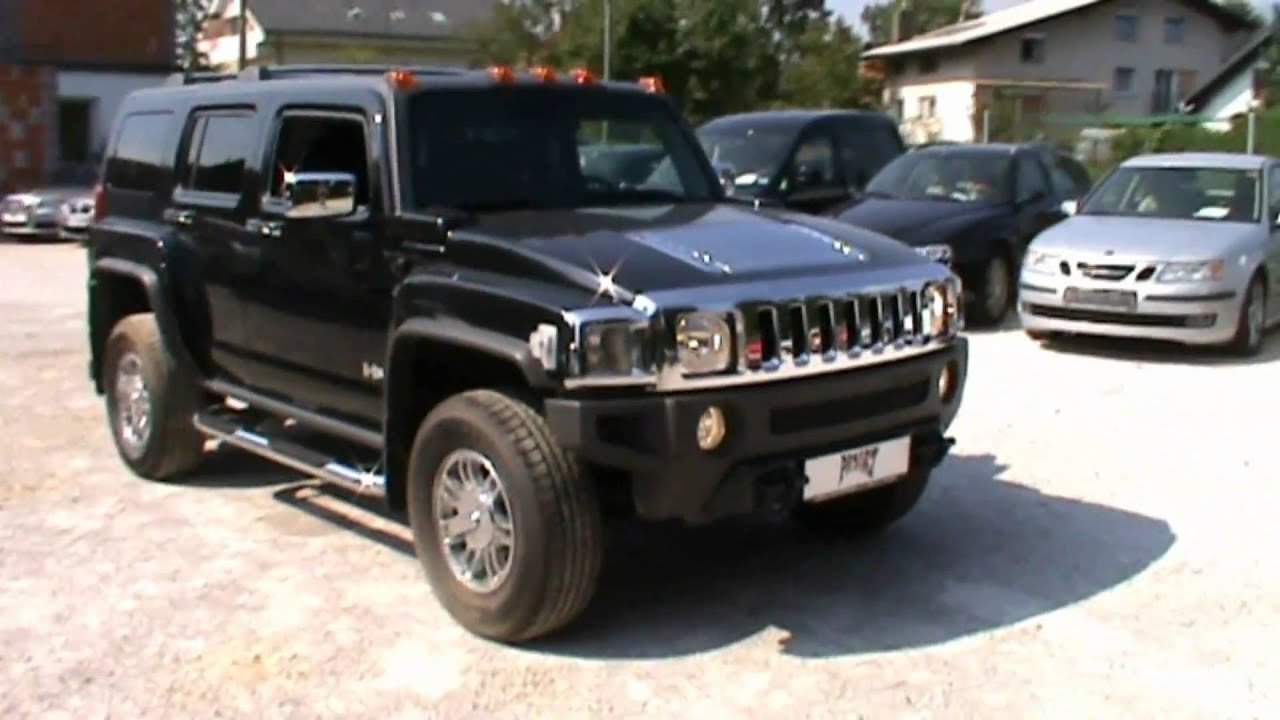 2007 hummer h3 3 7 4s luxury automatic full review start up engine and in depth tour