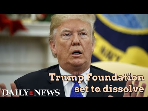 Trump Foundation is no more