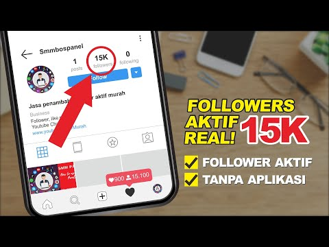 CARA MENAMBAH FOLLOWER INSTAGRAM INDONESIA