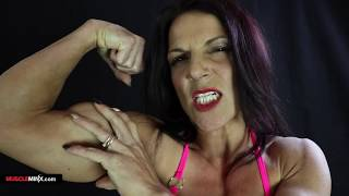 Danni Terresa Loves Her Muscles