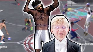 BEST 8 YEAR OLD NBA PARK PLAYER!! Ankle Breakers + Contested 3s! NBA 2k18 Playground