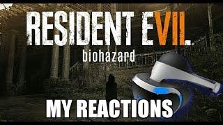 (Jump Scares) Let's Play Resident Evil Playstation VR