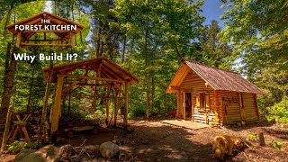 Off Grid Outdoor Kitchen at the Log Cabin, Why Build It?