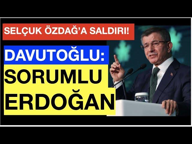 """DAVUTOĞLU'NDAN ERDOĞAN'A """"HESAP VER"""" ÇIKIŞI"""