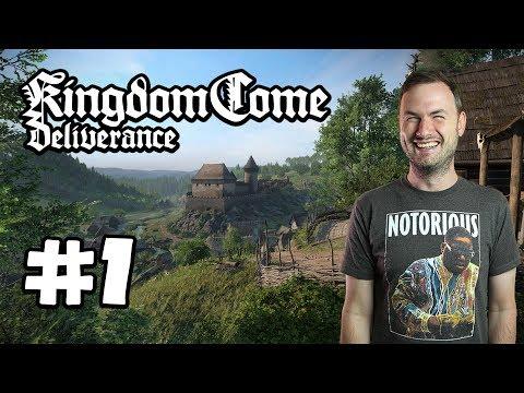 Sips Plays Kingdom Come: Deliverance (13/2/18) - #1 - Hello, Henry