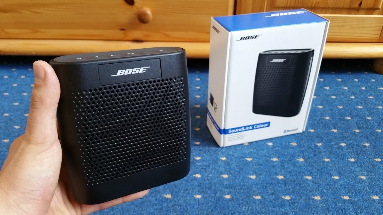 Nick Reviews Bose Soundlink Color 2 Bluetooth Speaker Youtube