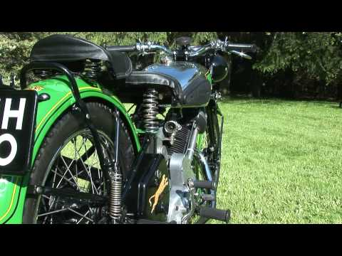 Panther Motorcycle 1939 Vintage
