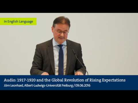 Audio: 1917-1920 and the Global Revolution of Rising Expectations