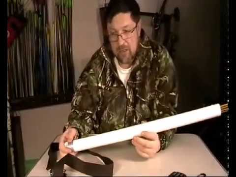 Колчан для стрел своими руками за 5 минут/Homemade quiver of arrows for 5 minutes