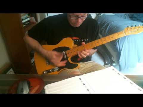 Stone Temple Pilots Good Shoes guitar solo (cover)