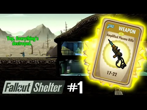 Fallout Shelter Gameplay - ULTIMATE WEAPON!