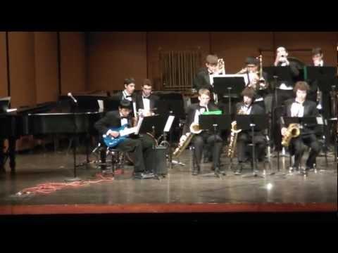 Northville High School Jazz Ensemble I - Prefestival Concert 2013