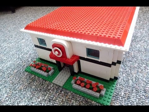 Lego Pokemon Center Complete Youtube
