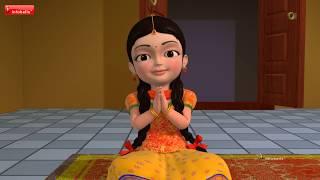 The God's Love | Telugu Rhymes for Children | Infobells