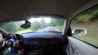 bmw z4 3.0si coupe back road test driving