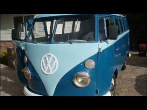 1967 VW KOMBI BUS With FUCHS Driveway Barn Find, PHILA TV
