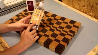 Clark's Cutting Board Finish: A Quick Look