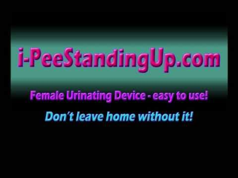 Download i-PeeStandingUp - Female Urinating Device
