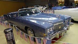 1974 Cadillac Eldorado Convertible Fisher V8 - Exterior and Interior - Salon Automobile Lyon 2017